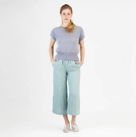 Pantalon Mary - Patron de couture avec tutoriel en Français chez Makerist