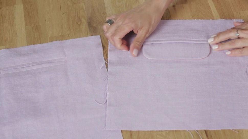 Tuto gratuit poche passepoilée - technique de couture chez Makerist - Image 1