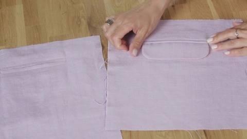 Tuto gratuit poche passepoilée - technique de couture chez Makerist