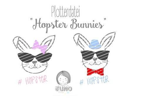 Plotterdatei Hopster Bunny mit Gewerbelizenz bei Makerist