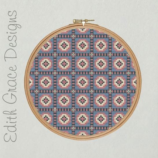 Dutch Art Embroidery Pattern at Makerist - Image 1