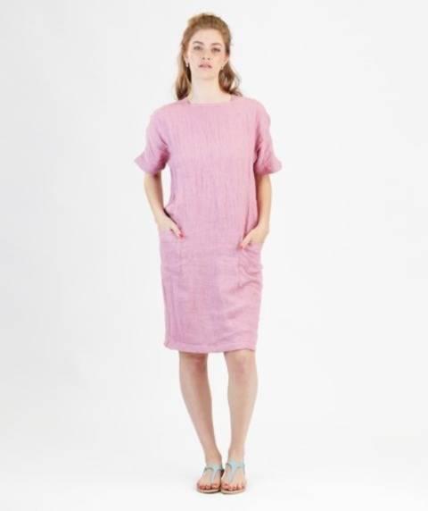 Robe Rose - Patron de couture avec instruction en Français chez Makerist