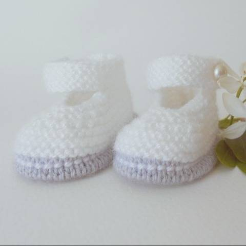 Chaussons Babies chic taille naissance chez Makerist