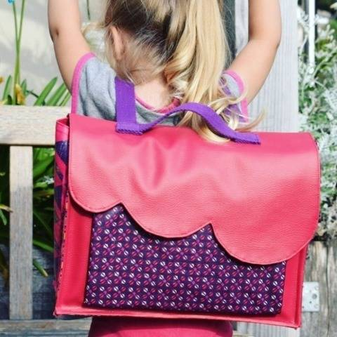 Cartable Nuage - couture