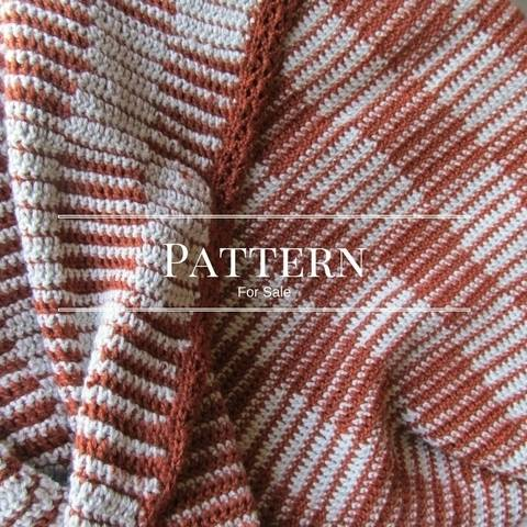 Checkerboard Crochet Blanket- beginner blanket crochet pattern at Makerist