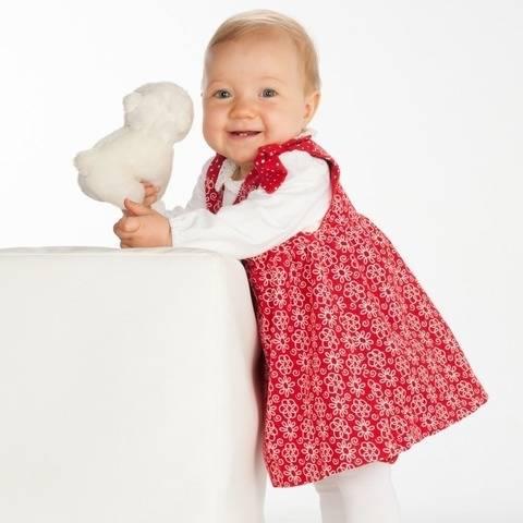 LIPSIA Schnittmuster Babykleid in 2 Varianten