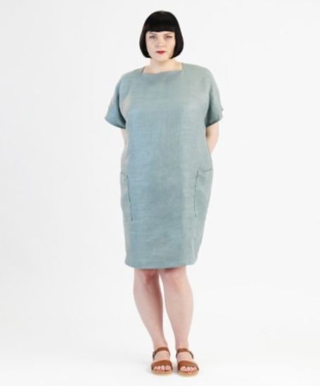 Robe Rose pour grandes tailles - Patron de couture avec instruction en Français chez Makerist - Image 1