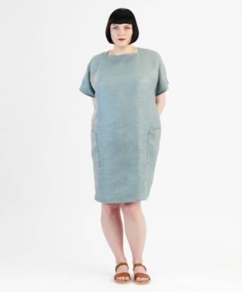 Robe Rose pour grandes tailles - Patron de couture avec instruction en Français chez Makerist