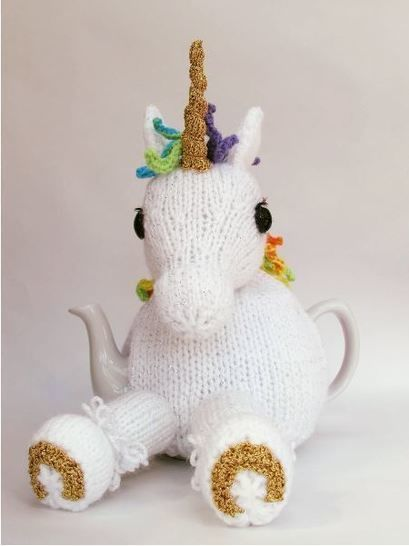 Unicorn Tea Cosy Knitting Pattern at Makerist - Image 1
