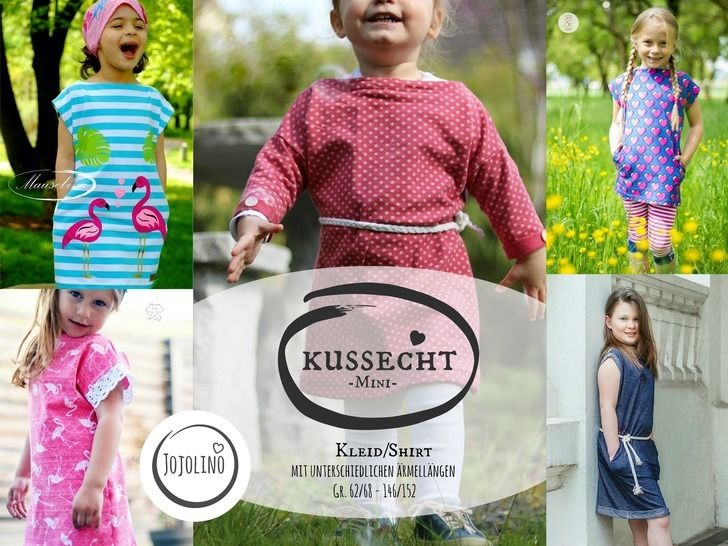 eBook Kussecht Mini - Kleid/Shirt Gr. 62/68 - 146/152 bei Makerist - Bild 1