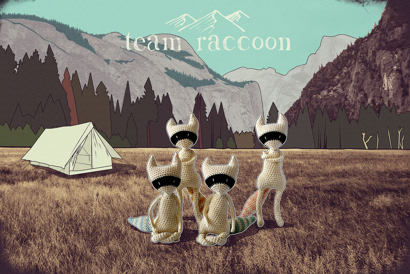 Team raccoon - amigurumi pattern at Makerist - Image 1