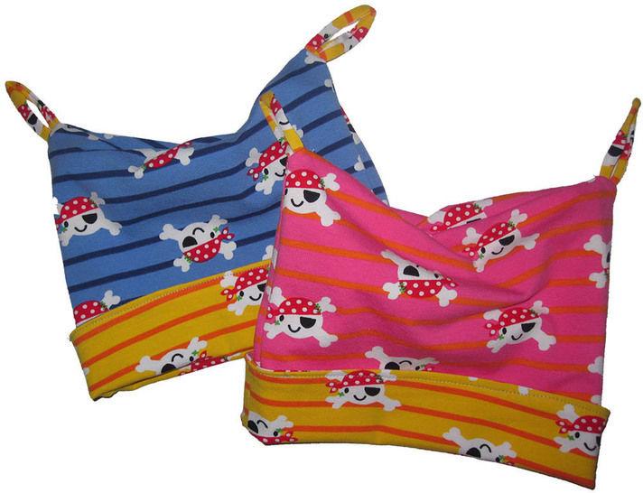 reversible hat with matching bandana sewing pattern baby bei Makerist - Bild 1