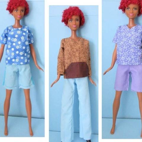 Tall Barbie Doll Basics and Beyond PDF Sewing Pattern