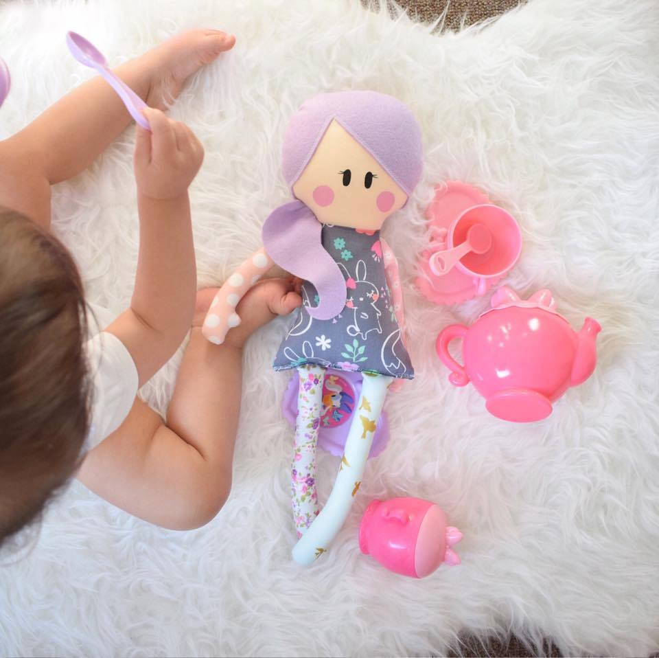 Rag Doll Sewing Pattern - suitable for begginers