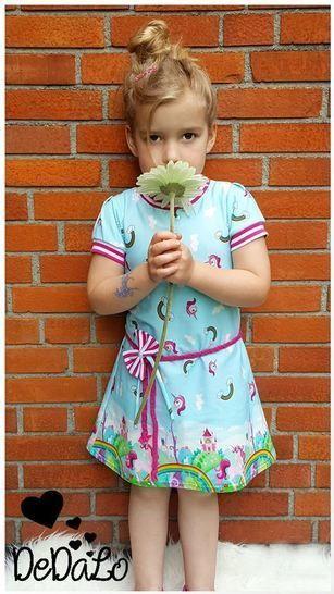 """eBook Shirt/Kleid """"Pretty Miss"""" Größen 56 - 170 von Lennähna bei Makerist - Bild 1"""