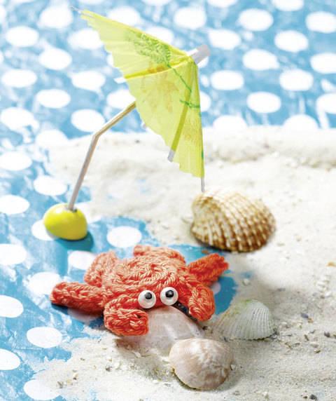 Flinke Krabbe (Anleitung für Strickliesel)