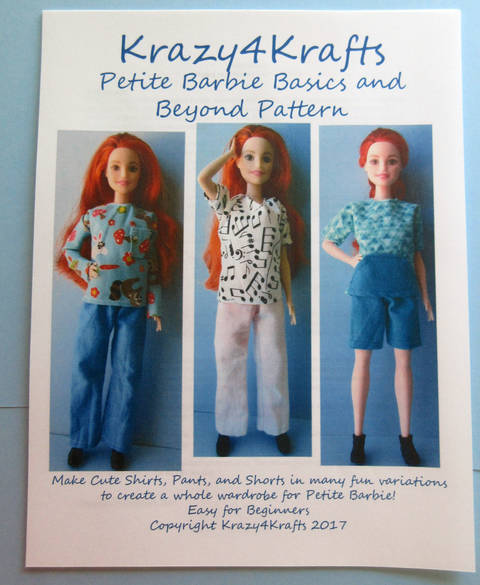 Barbie Petite Doll Basics and Beyond PDF Sewing Pattern