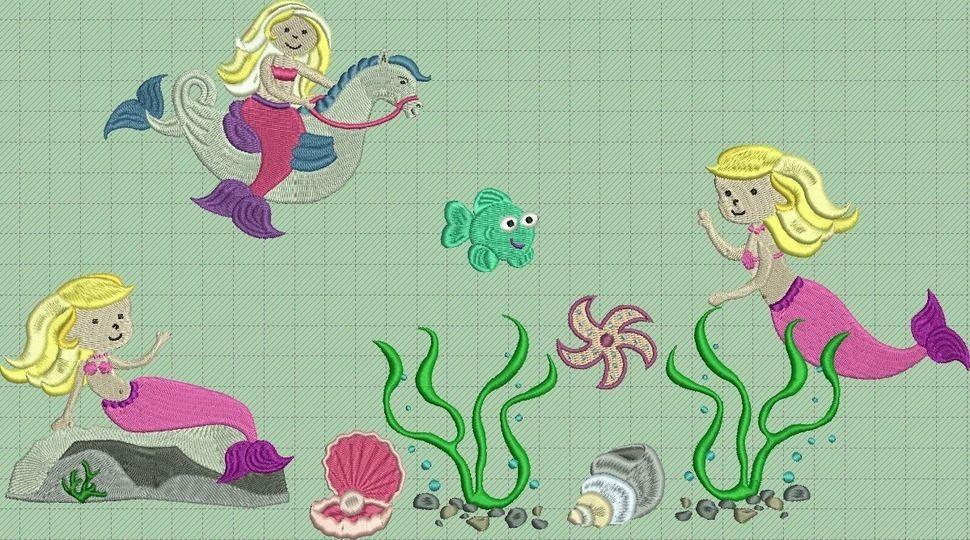 Anni Meerjungfrau, vollstick, gewerbliche Nutzung bei Makerist - Bild 1