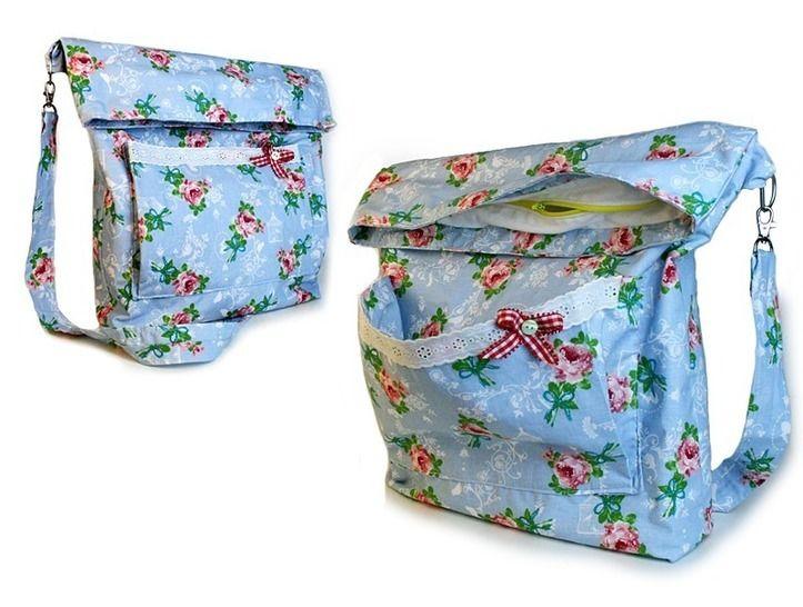 Nähanleitung Tasche Eden mit Reißverschluss nähen bei Makerist - Bild 1