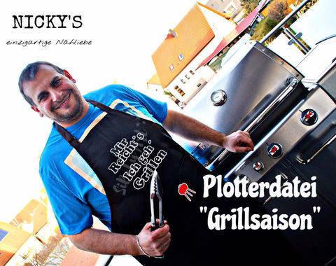 """Plotterdatei """"Grillsaison"""" Kombi Paket bei Makerist"""