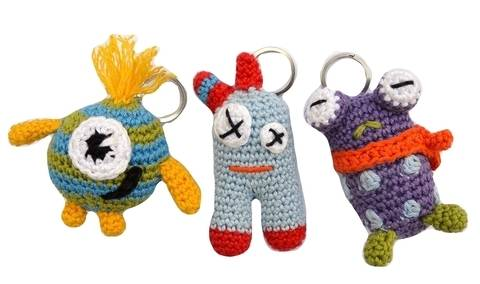 """E-Book """"Key Chain Monsters"""" at Makerist"""