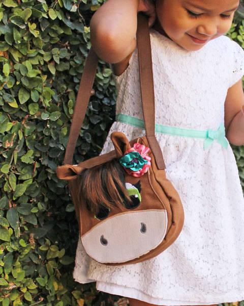 Horse Purse or Satchel Bag Child's Bag at Makerist