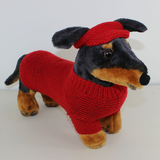 Small Dog 4 Ply Coat Visor & Pixie Hat at Makerist - Image 1