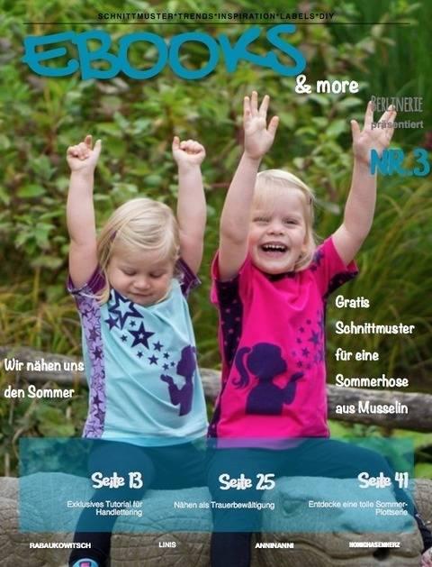 Onlinemagazin Ebooks&more Nr. 3 + Schnittmuster