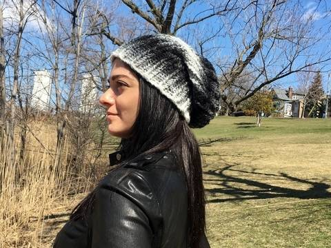 Slouchy Beanie Crochet Hat Pattern (Slouchy-Slouch Hat) at Makerist