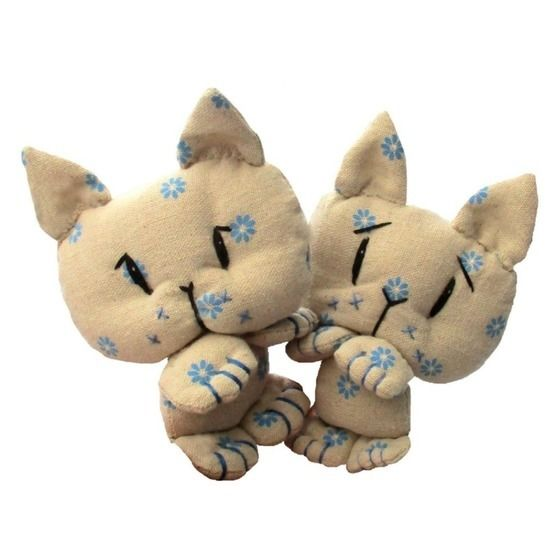Coorie kitten soft toy cat sewing pattern at Makerist - Image 1