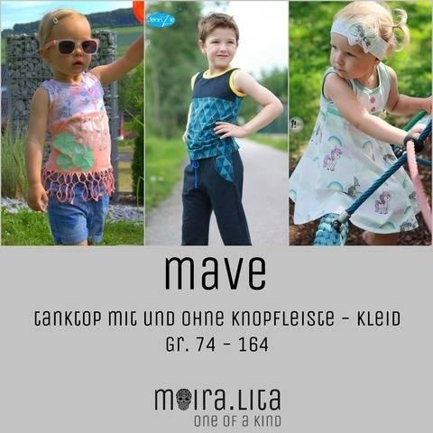 Tanktop und Sommerkleid Mave Nähanleitung und Schnittmuster bei Makerist