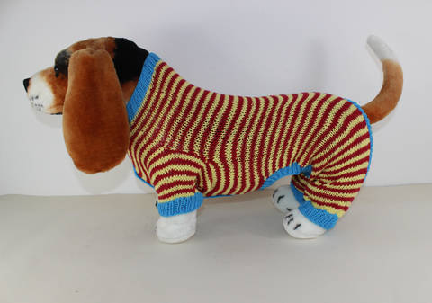 Dog Stripe Onesie