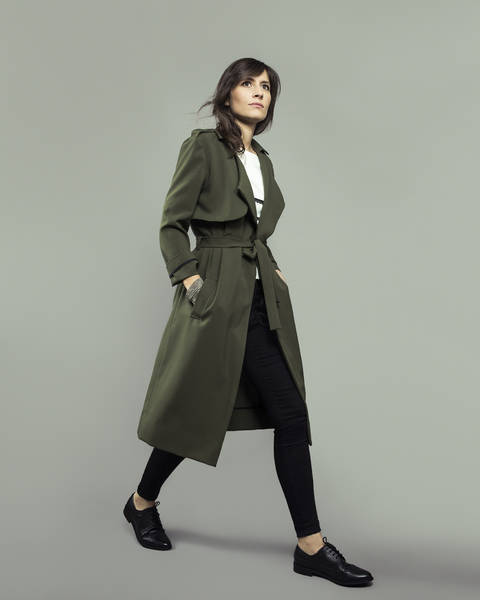 LONDRES trench-coat/jacket - sewing pattern with detailed instructions at Makerist