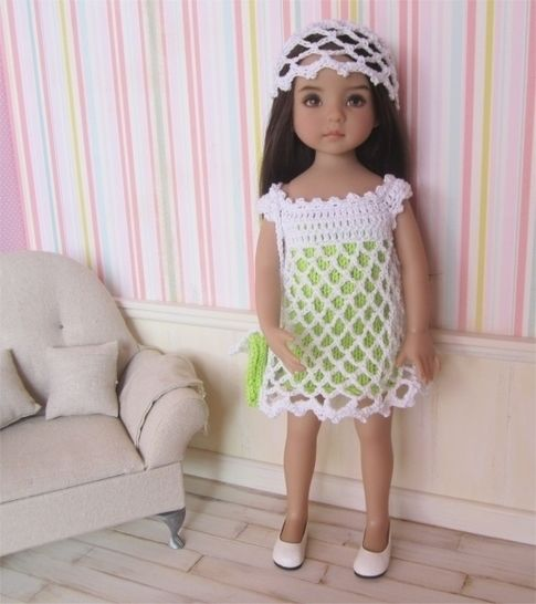 Anis: knit and crochet outfit for 32-34cm dolls at Makerist - Image 1