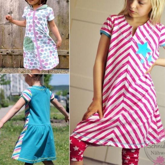 geteilt-durch-Kleid Mädchen Kinderkleid, Gr. 80–152, e-Book bei Makerist - Bild 1