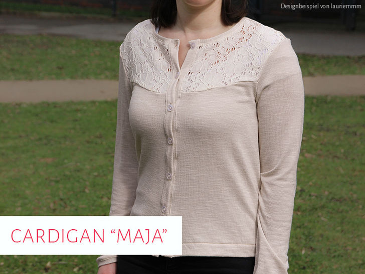 "Cardigan / Strickjacke ""Maja"" bei Makerist - Bild 1"