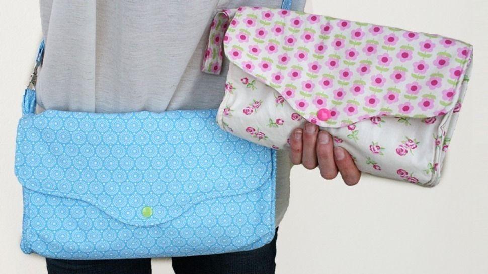 Nähanleitung Tasche Claire mit 3 Fächern E-Book bei Makerist - Bild 1