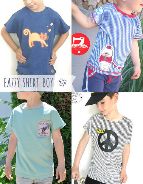 EBOOK EAZZY.SHIRT BOY UNiSEX  GR. 74-164