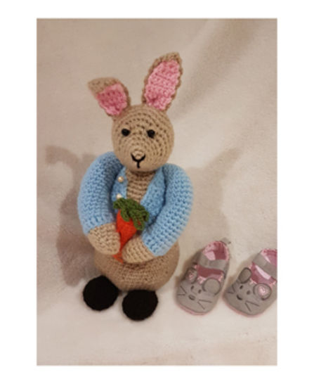 Peter Bunny Rabbit toy Crochet Pattern at Makerist - Image 1