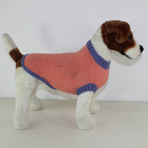 Simple Aran Dog Coat