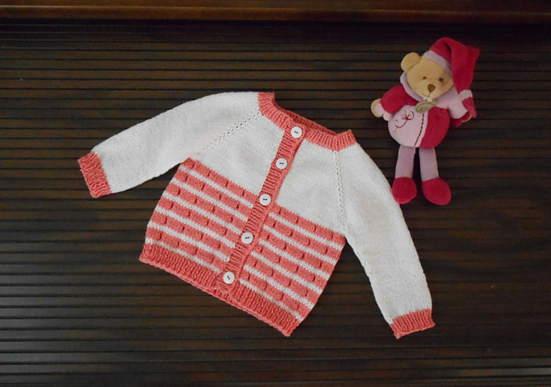 La Flotte en Re - cardigan for babies and girls at Makerist - Image 1