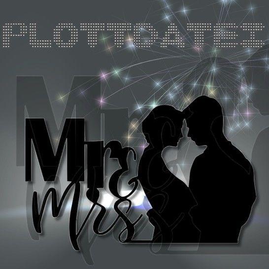 Plottmotiv Mr & Mrs bei Makerist - Bild 1