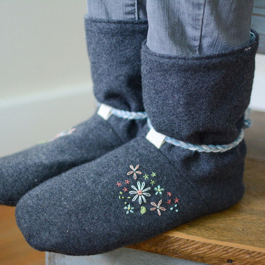 Tie Back Boots - Women's and Men's at Makerist - Image 1