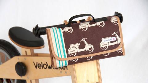 Nähanleitung Kindergartentasche und Fahrradtasche bei Makerist