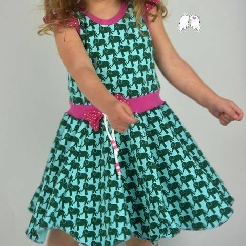 Sommerkleid FLOWER ELVES 62 - 164 + Plott bei Makerist