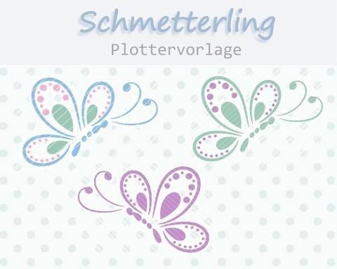Plottervorlage Schmetterling bei Makerist