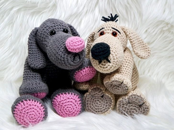 Crochet Pattern Dog Theo Tatze at Makerist - Image 1