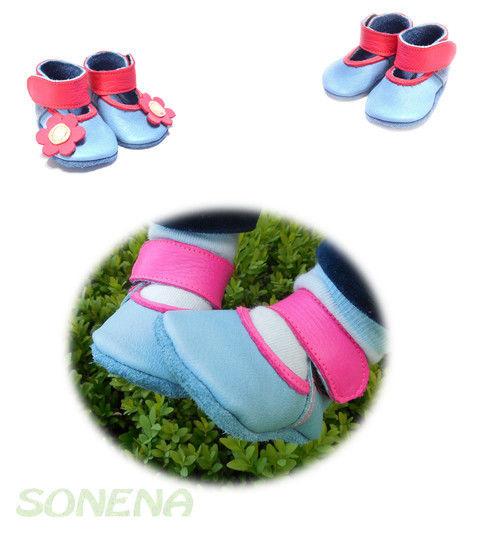 size 40 75224 c9207 Ebook Lederpuschen Baby Ballerinas