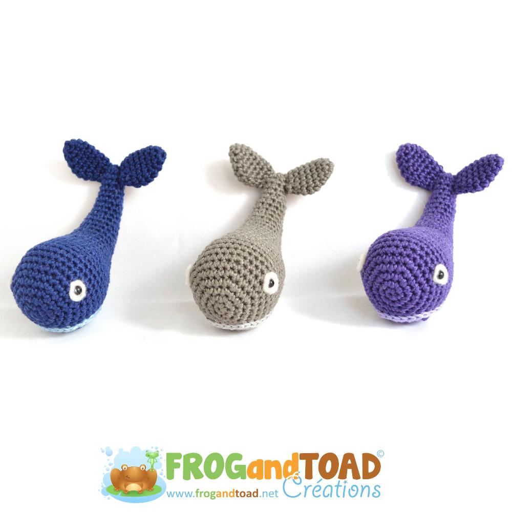 MYSTICETI the Whale - Amigurumi Crochet Pattern - American