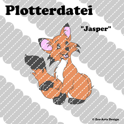Plotterdatei Jasper (Fuchs)